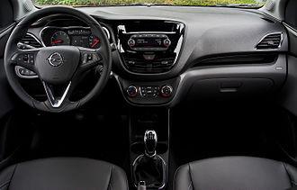 Opel Karl - Interior