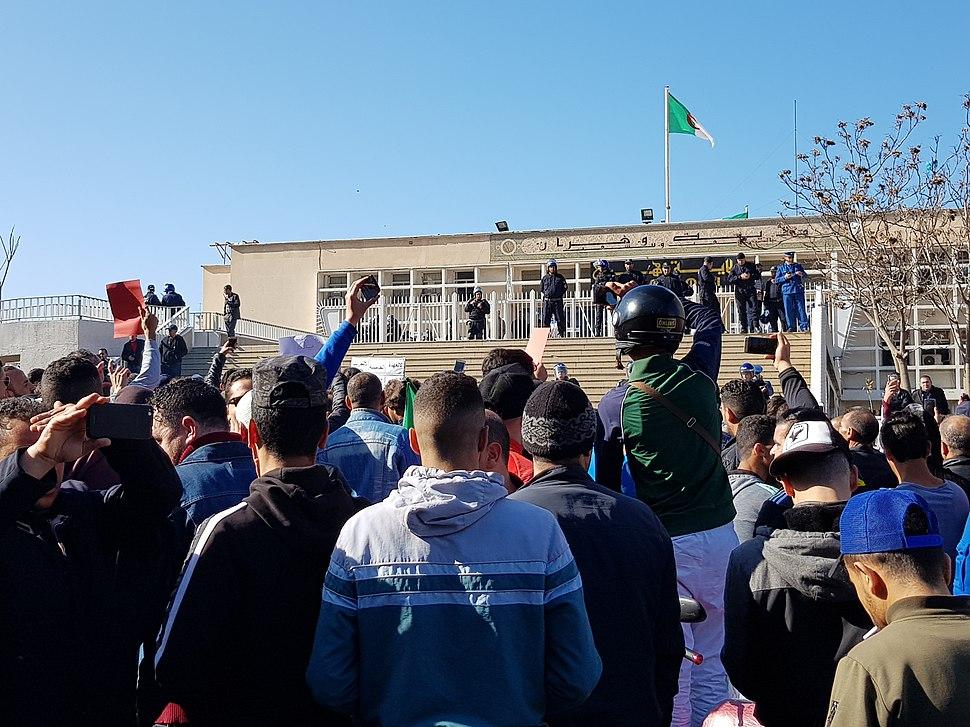 Oran protests