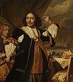 Origineel, Bartholomeus van der Helst (Haarlem 1613 - Amsterdam 1670) - Portret van Aert Jansz. Van Nes (1626-1693), kopie in brunaille, waarschijnlijk als voorbereiding vo - 63079-A-B - Museum Rotterdam.jpg