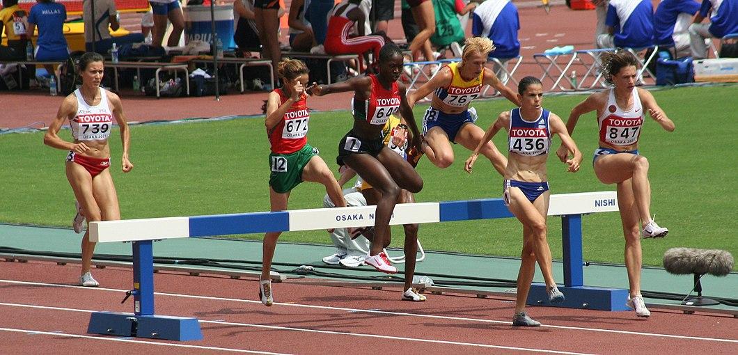 Leichtathletik Wm 3000m Hindernis Frauen