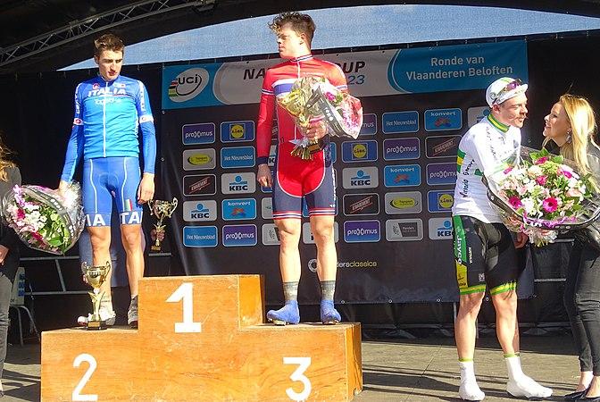 Oudenaarde - Ronde van Vlaanderen Beloften, 11 april 2015 (E10).JPG