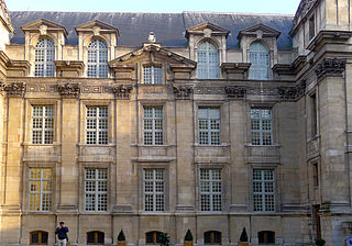 16th-century grand house in Paris, France