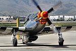 P51 Mustang - Chino Airshow 2014 (14250725260).jpg