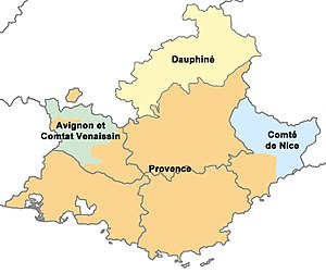Provence Map Of France.Provence Wikipedia