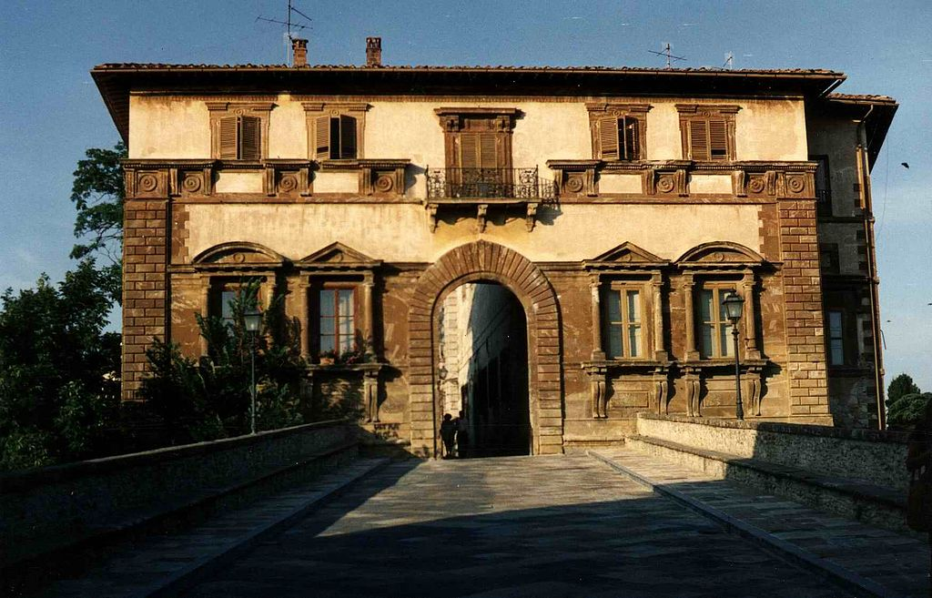 Colle di Val d'Elsa, Colle Alta, Palazzo Campana