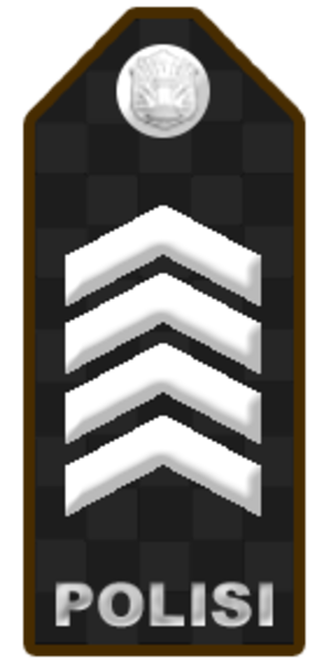Brigadier - Image: PDU BRIPKA KOM