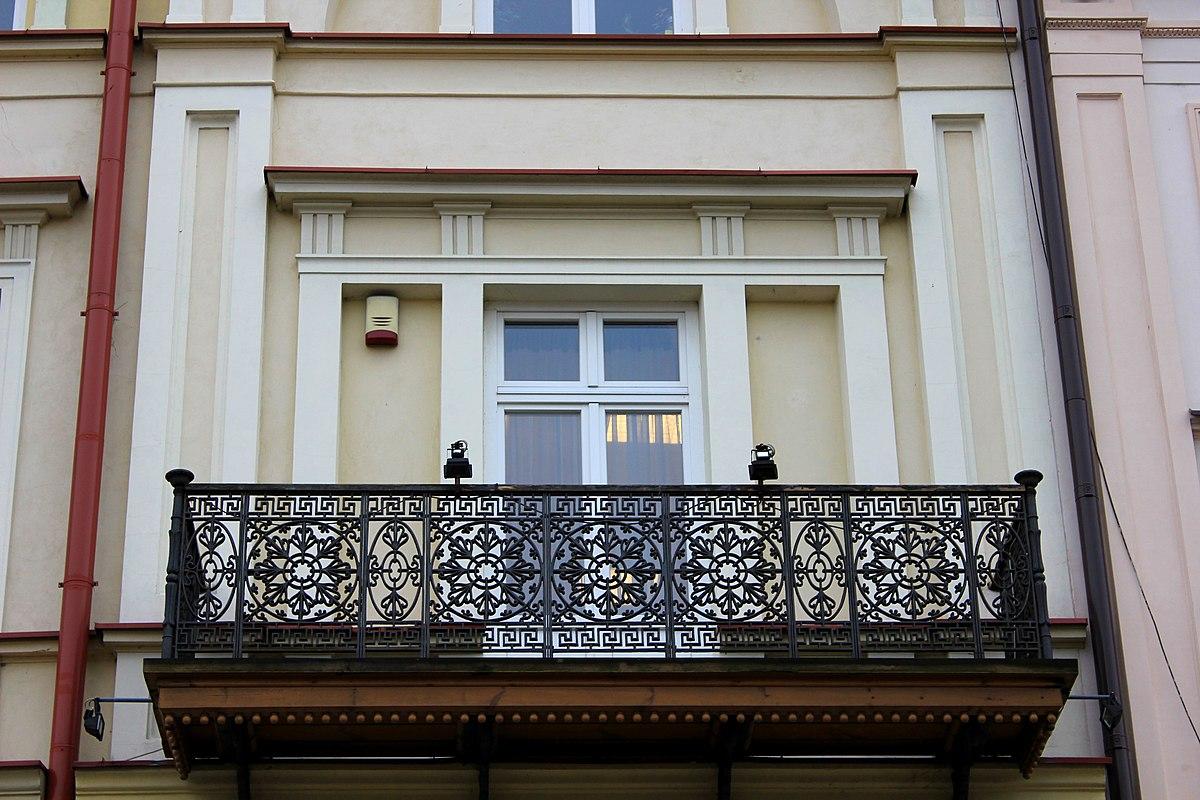 File Pl Lublin Ul Krakowskie Przedmiescie 36 Azurowy Balkon Jpg