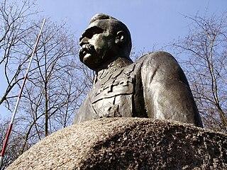 Józef Piłsudski monument, Turek