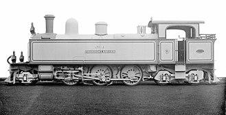 2-6-4 - PPR 55 Tonner 2-6-4T, SAR Class D