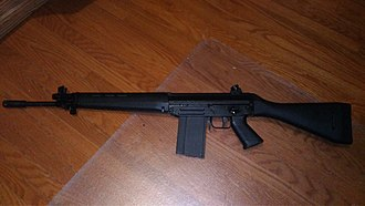 SIG SG 540 - SG 542 Made by FAMAE for the Canadian civilian market