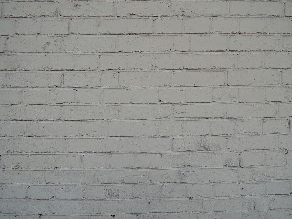 File Painted White Brick Wall Moscow 02 Jpg Wikimedia