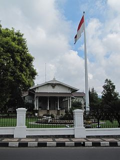 Istana Cipanas from the front