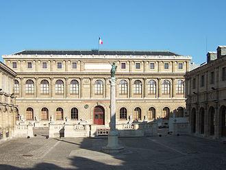 École des Beaux-Arts - Palais des études of the École nationale supérieure des Beaux-Arts, Paris