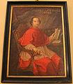 Palazzo corsini, appartamenti orientali, ritratto di andrea corsini cardinale, di ambito toscano (XVIII sec).JPG