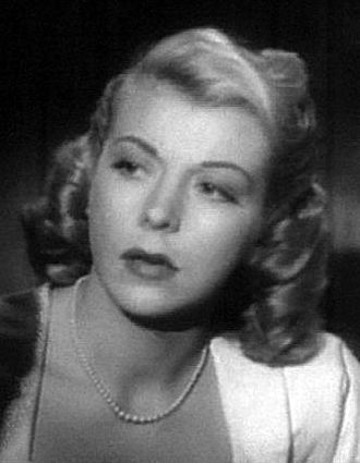 D.O.A. (1949 film) - Image: Pamela Britton in DOA 1