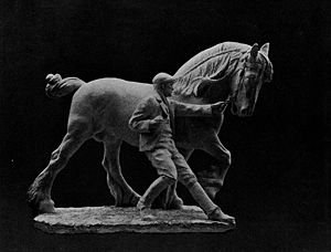 Frederick Roth - Roth's Horse Tamer, from the Pan-American Exposition