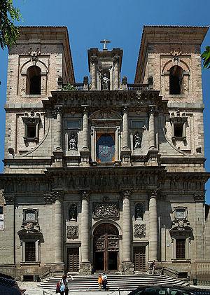 Iglesia de San Idelfonso, Toledo - Facade of the Iglesia de San Idelfonso