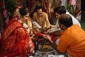 Pani Grahan - Bengali Hindu Wedding - Howrah 2015-12-06 7722.JPG