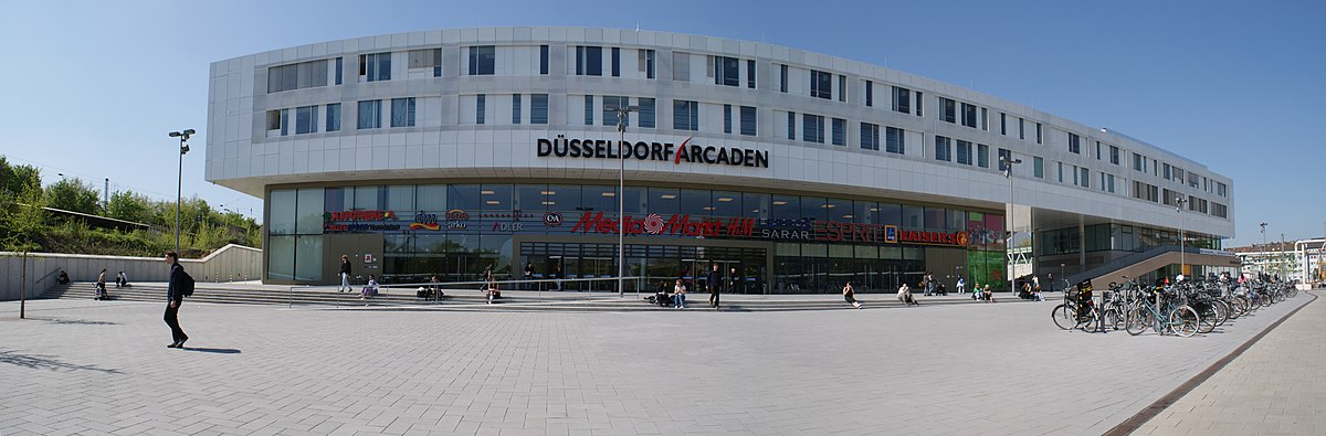 d sseldorf arcaden wikipedia. Black Bedroom Furniture Sets. Home Design Ideas