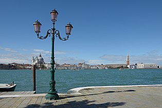 Panorama Salute San Marco from Zitelle Venice on Easter 2013.jpg
