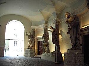 Italiano: Roma, Palazzo Braschi - vestibolo al...