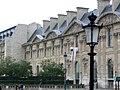 Paris (75001) Palais du Louvre Aile de Rohan Façade sud.jpg