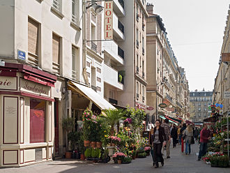 14th arrondissement of Paris - Pedestrian street in the 14th arrondissement of Paris