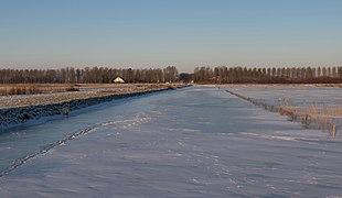Park Lingzegen, bevroren sloot IMG 8054 2021-02-13 08.46.jpg