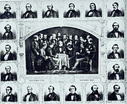 Participants in the First American Chess Congress (1857, New York City)
