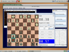 Partida no FreeChess