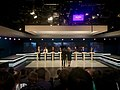 Party leader debate on Swedish television during the election 2018.jpg