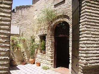 Córdoba Synagogue - The courtyard of Cordoba Synagogue.