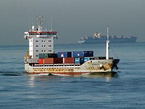 Patricia S approaching Port of Rotterdam 24-Jan-2006.jpg
