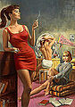 Paul Rader - Girls Dormitory - 1963.jpg