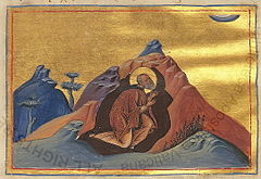 Paul the Simple of Egypt (Menologion of Basil II).jpg