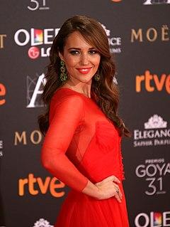 Paula Echevarría Spanish model and actress