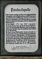 Pauluskapelle Schild.jpg