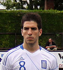 Pavlos Mitropoulos with Greece U-21.jpg