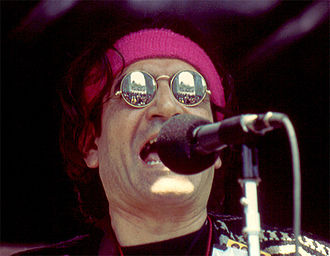 David Peel (musician) - Peel in Washington Square Park, 1994 Pot Parade