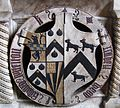 Penkridge St Michael - Edward Littleton 1558 Isabel Wood Arms.JPG