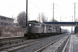 Penn Central Transportation Company - Image: Penn Central No 4801 4800