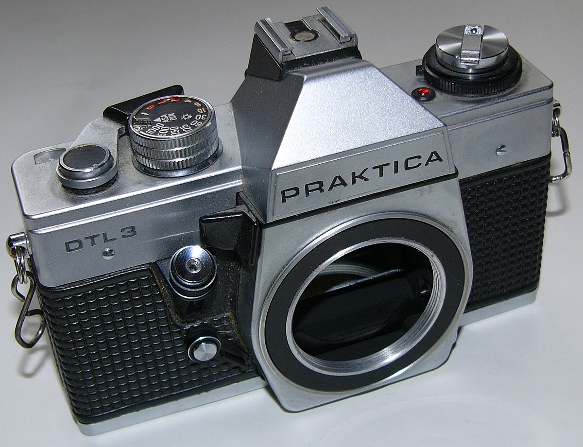 Camera pentacon praktica mtl carl zeiss jena tessar mm
