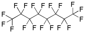 Fluorocarbon - Image: Perfluorooctane