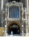 Perpendicular Porch Peterborough Cathedral.JPG