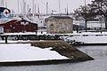 Perrés de l'avant-port de La Rochelle sous la neige (2).JPG