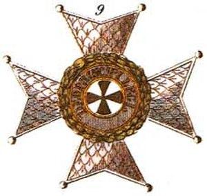 Order of Saint Joachim - Commander's star