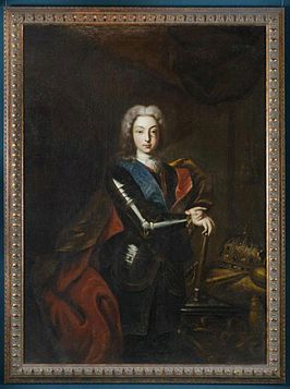 Peter II in armour by anonymous (18 c., Kremlin museum).jpg