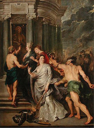 Borghese Gladiator - Image: Peter Paul Rubens 044