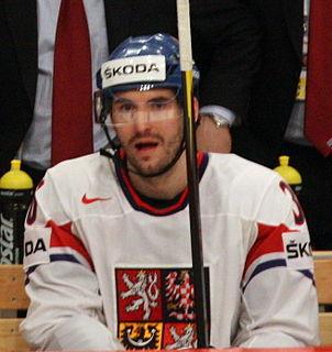 Petr Čáslava Czech ice hockey player