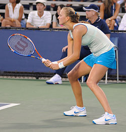 Petra Kvitová at the 2010 US Open 01.jpg